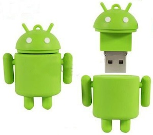 Android-robot-flash-drive